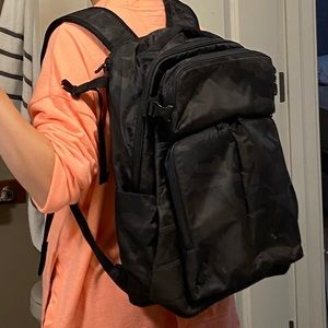 Lululemon travel and commute backpack